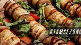 Atıştırmalık Zeytinyağlı: Izgara Patlıcan Ruloları