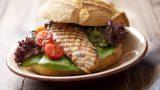 Sağlıklı Burger: Piliç Fileto Burger