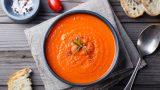 Soğuk Domates Çorbası